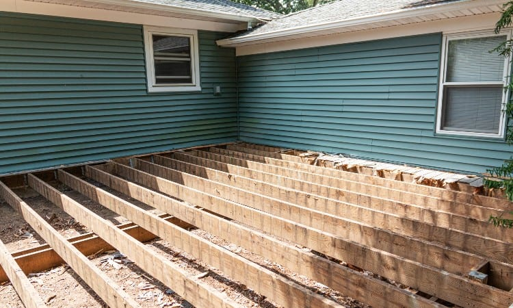 2x6 span for deck