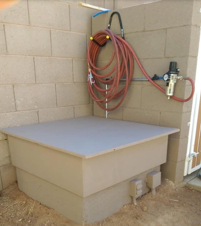 Air compressor sound box