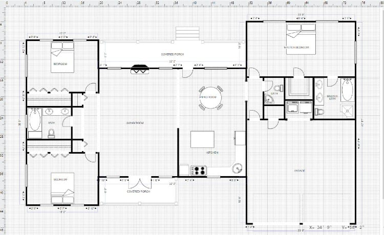 Basement design tools SmartDraw