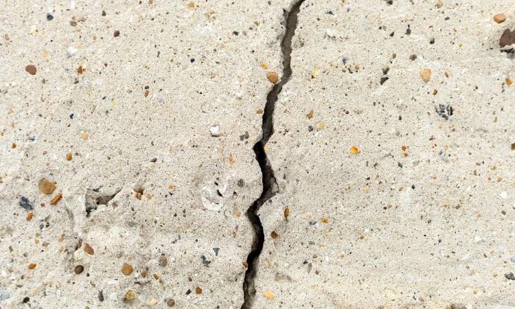 Basement floor cracks