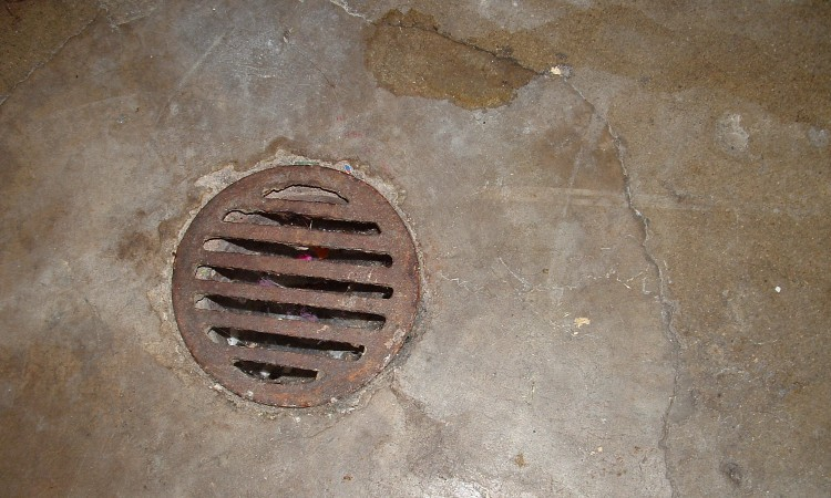 Can You Cover A Basement Floor Drain