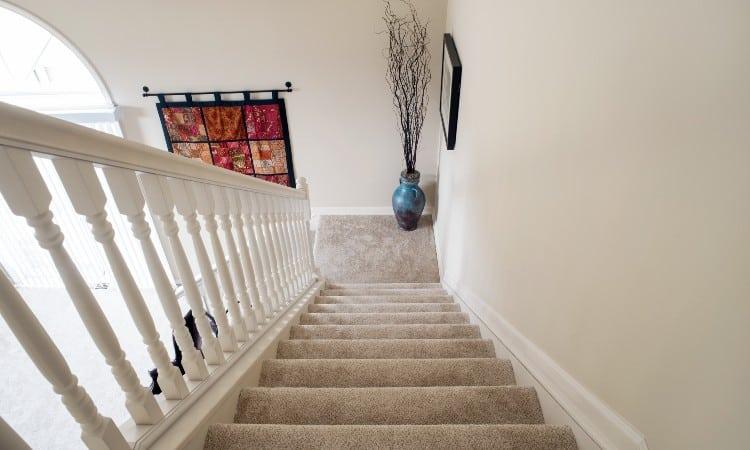 Carpet vs wood stairs