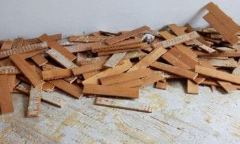 Remove Glued Wood Flooring