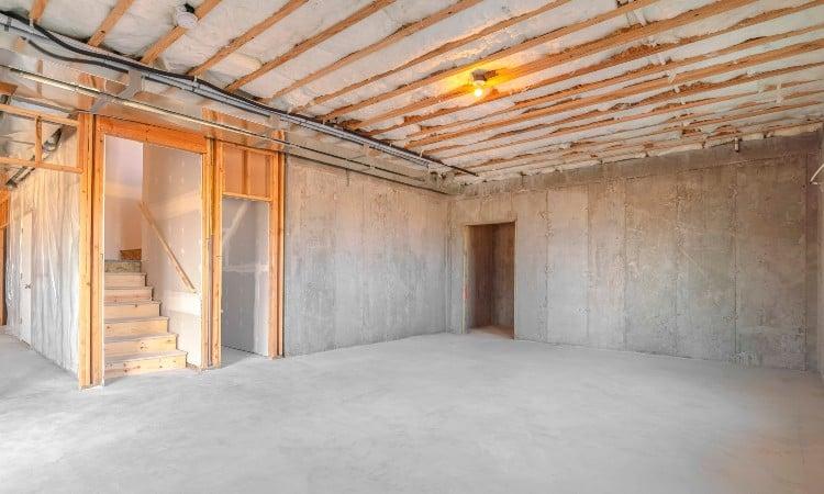 Finished vs unfinished basement