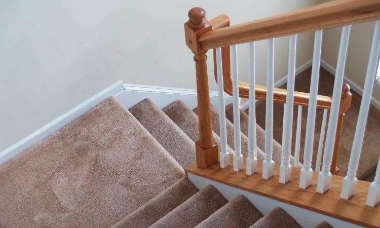 Hardwood stairs vs carpet