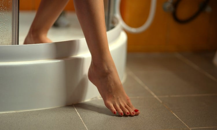 How to Fix a Slippery Shower Floor