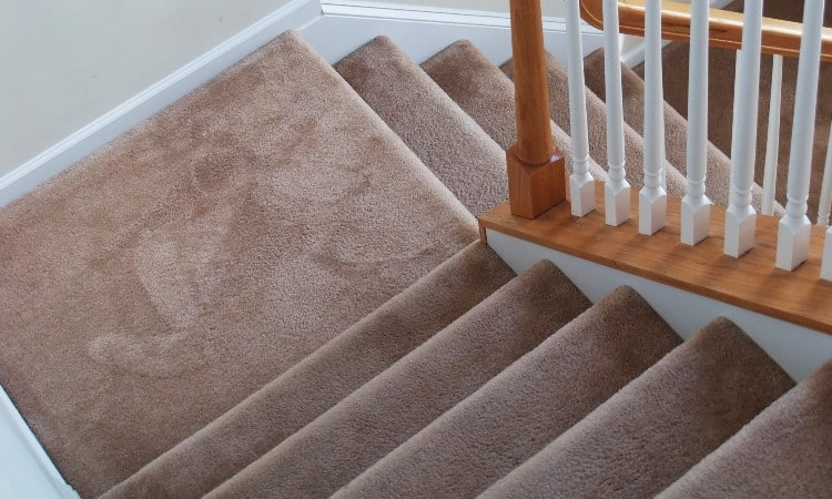 How to clean carpet on stairs
