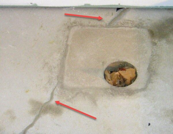 How to fix cracks in basement floor