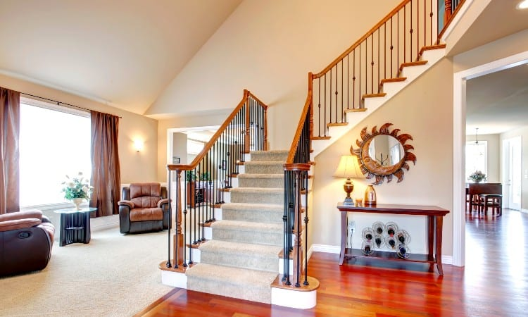 Moving Staircase in House