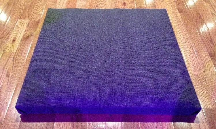Sound absorbing panel