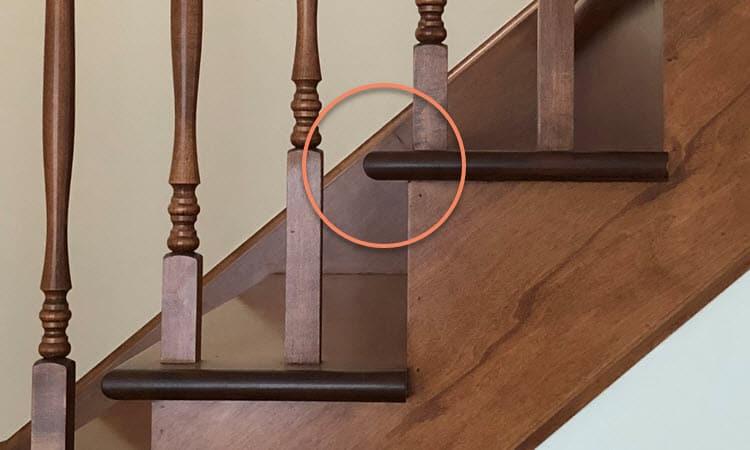 Stair Tread Overhang