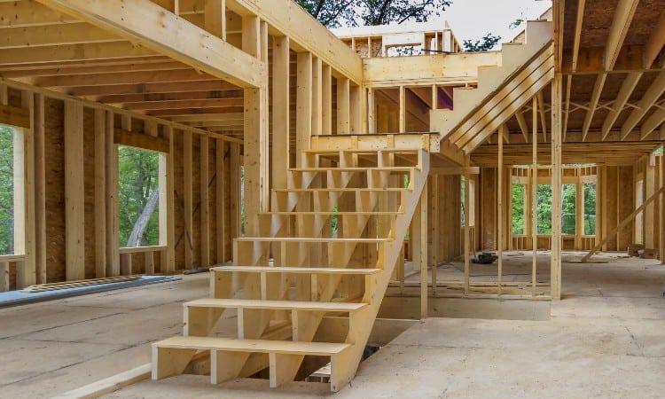 Stringers stair