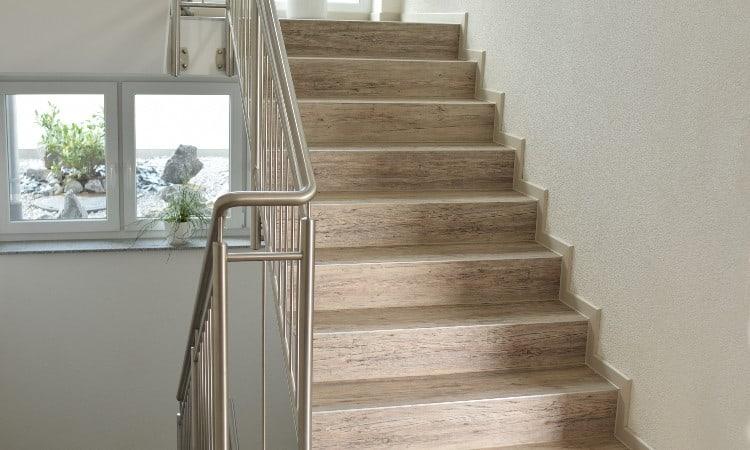 Vinyl on stairs