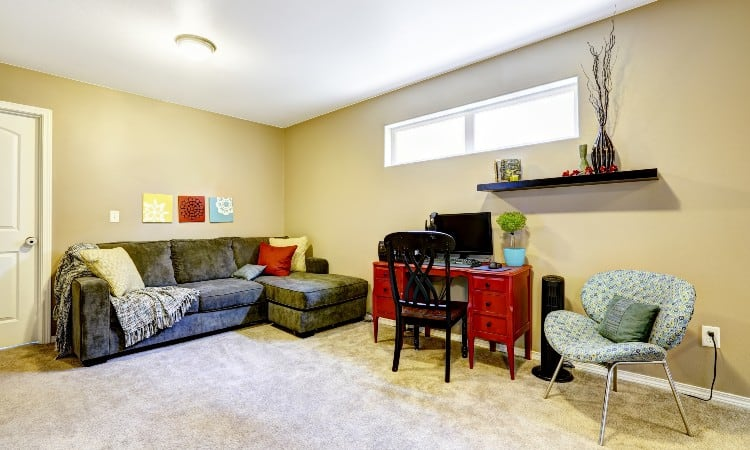 What is a finished basement